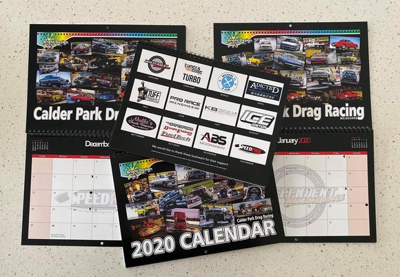 Bright Design 2020 Calendar Photos from Calder Park Drag Raacing 5