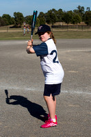 Berwisk Braves Softball  Club Finals Under 13 Girls  22 March 2015 (1418)