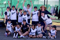 Berwisk Braves Softball  Club Finals Under 13 Girls  22 March 2015 (1400)