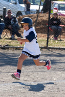Berwisk Braves Softball  Club Finals Under 13 Girls  22 March 2015 (1357)
