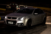 Fast Friday Street Meet Drag Racing @ Calder Park Raceway  FRI 18 Sept 2015  (31003)  VF6LV8