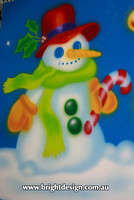 6-20 SM-06 UC1w Snowman from design 1 Outdoor Christmas Displays
