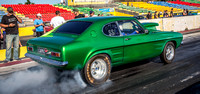 Fast Friday @ Calder Park Drag Racing Friday 9 February 2018  (100511)-2  CAPRI GREEN