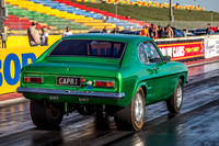 Fast Friday @ Calder Park Drag Racing Friday 9 February 2018  (100512)  CAPRI GREEN