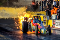 AA Fast Friday @ Calder Park Drag Racing Friday 9 February 2018  (100996)  SPEED DEMON RACHELLE SPLATT JETCARS