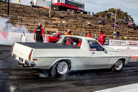 ANDRA Drag Racing Finals in Adelaide @ AIR  SAT 9 April 2016  (1018)  WHITE UTE  SST 2314  PHAT