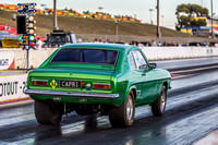 Fast Friday @ Calder Park Drag Racing Friday 3 March 2018  (101508)  GREEN CAPRI