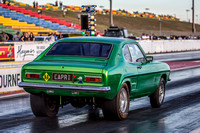 Fast Friday @ Calder Park Drag Racing Friday 3 March 2018  (101507)   GREEN CAPRI