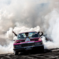 Summernats 29 SUNDAY 9 Jan 16  BDMP2815  SMOKINU BURNOUT WINNING SKID
