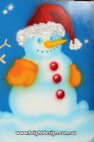 6-50 SM-07 UC3w Snowman from design 2 Outdoor Christmas Displays