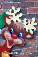 1 (SS-01) d www Reindeer Outdoor Christmas Decorations for Home Garden Christmas Displays
