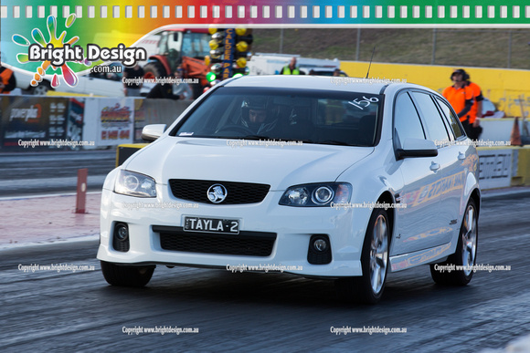 ANDRA Street Outlaws Drag Racing Quals Rnd 9 @ Calder Park  19 December 2014  (27509)  TAYLA2