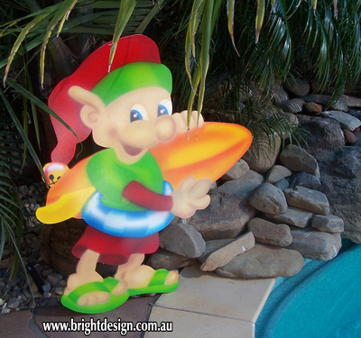 australian surfboard elf is available for the first time online this christmas this christmas decoration was designed to be placed with the australian surf