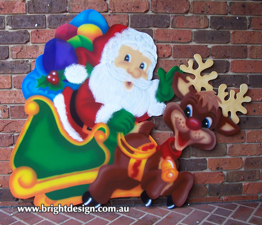 1 ss 01 a www santa n reindeer outdoor christmas decorations n cut