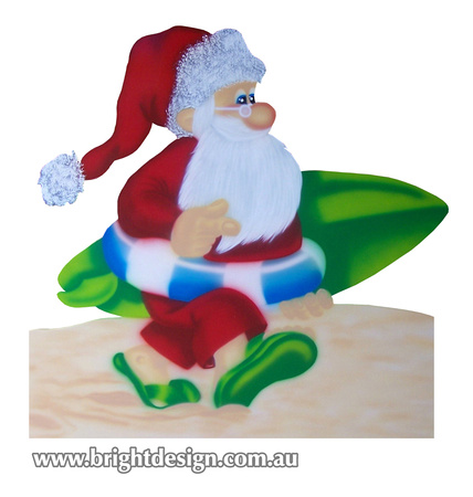 2 s 51 z australian surfboard santa outdoor christmas decorations for home roof christmas