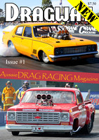Dragway Magazine Issue #1 - Cover 1