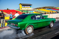 Fast Friday @ Calder Park Drag Racing Friday 9 February 2018  (100511)  CAPRI GREEN
