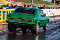 Fast Friday @ Calder Park Drag Racing Friday 9 February 2018  (100514)  CAPRI GREEN