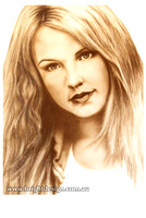CA101 Award Winning Britney Spears Airbrushed Portrait Illustration Custom Airbrushed by Bright Design Airbrush Studio