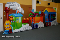 In Harkaway Primary School Production Prop Custom Airbrushed by Bright Design